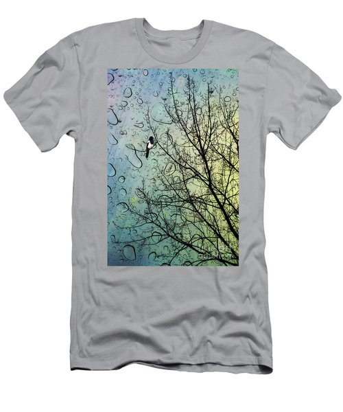 One For Sorrow Men's T-Shirt (Slim Fit) by John Edwards