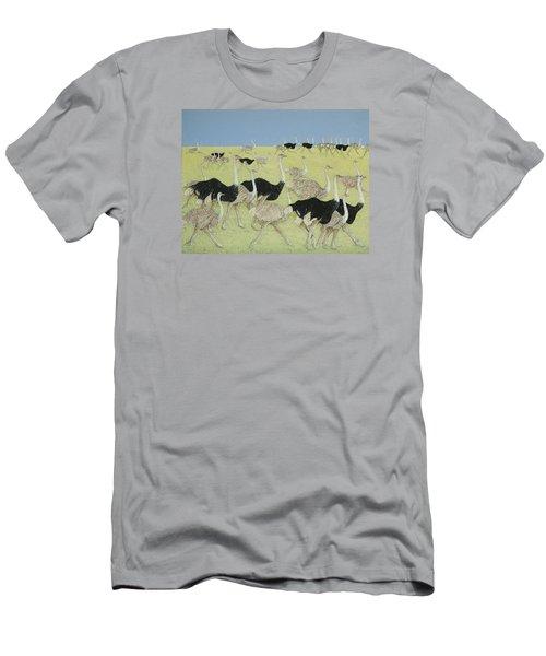 Rush Hour Men's T-Shirt (Slim Fit) by Pat Scott
