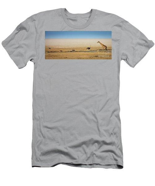 Savanna Life Men's T-Shirt (Slim Fit) by Inge Johnsson