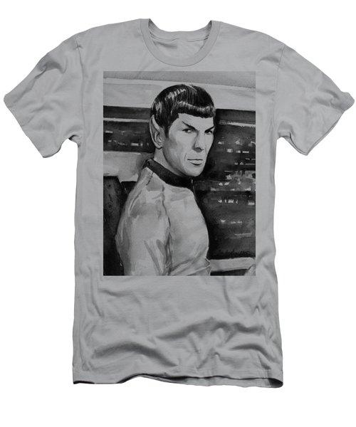 Spock Men's T-Shirt (Slim Fit) by Olga Shvartsur
