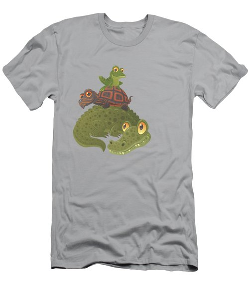 Swamp Squad Men's T-Shirt (Slim Fit) by John Schwegel