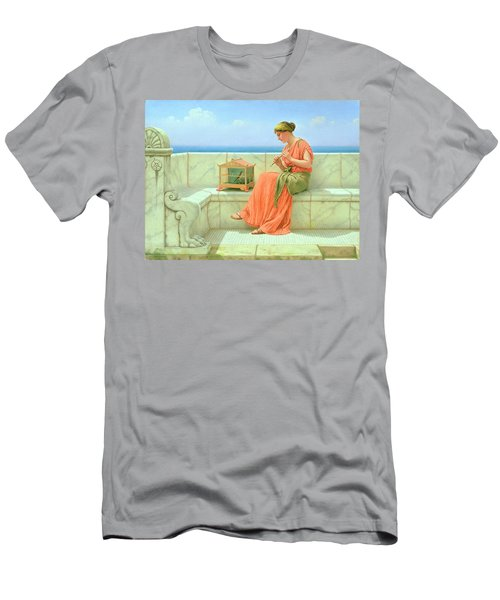 Sweet Sounds Men's T-Shirt (Slim Fit) by John William Godward