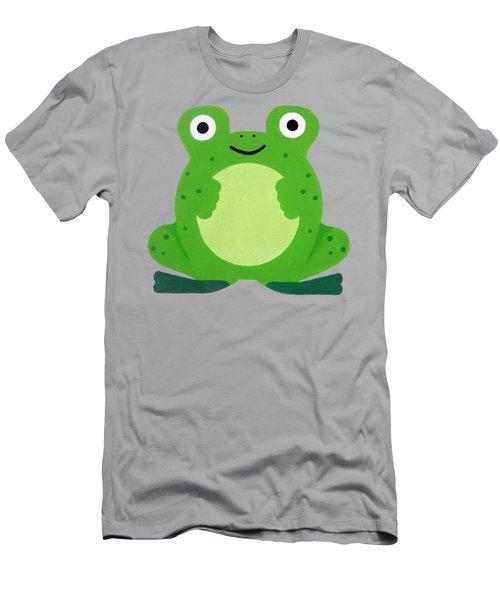 Tfrogle Men's T-Shirt (Slim Fit) by Oliver Johnston