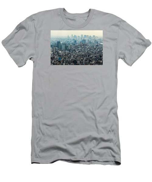 The Great Tokyo Men's T-Shirt (Slim Fit) by Peteris Vaivars
