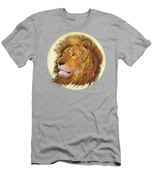 The One True King - Color Men's T-Shirt (Slim Fit) by J L Meadows