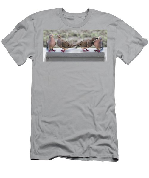 Together For Life Men's T-Shirt (Slim Fit) by Betsy Knapp