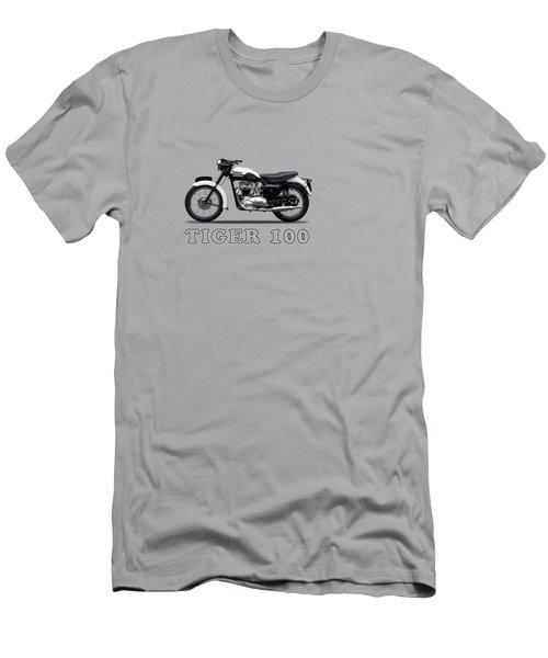 Triumph Tiger 110 1959 Men's T-Shirt (Slim Fit) by Mark Rogan