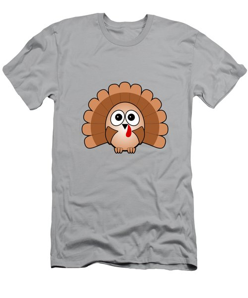 Turkey - Birds - Art For Kids Men's T-Shirt (Slim Fit) by Anastasiya Malakhova