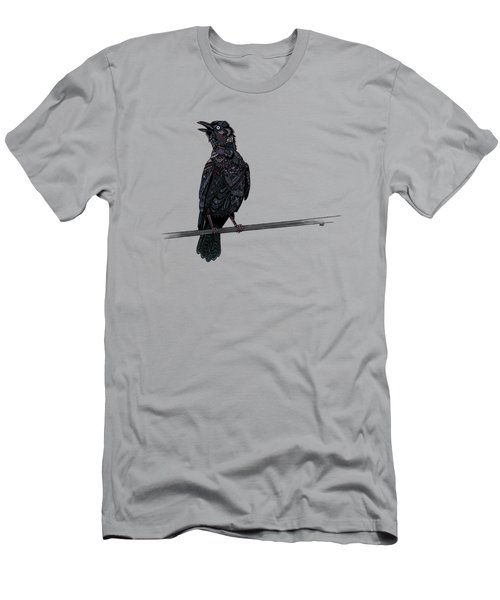 Verklempt Crow Men's T-Shirt (Slim Fit) by ZH Field