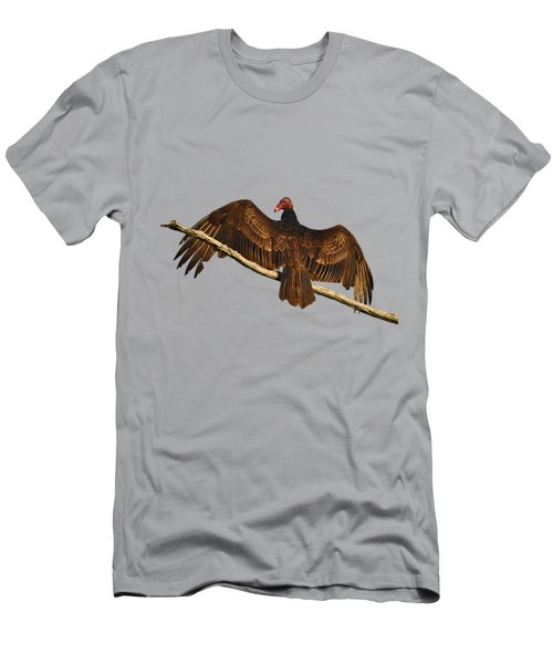 Vivid Vulture .png Men's T-Shirt (Slim Fit) by Al Powell Photography USA