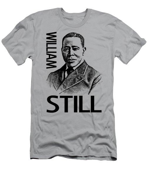 William Still Men's T-Shirt (Slim Fit) by Otis Porritt