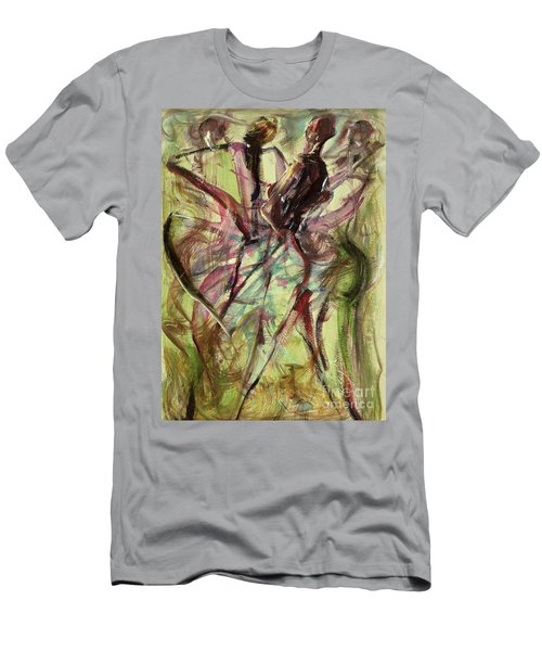 Windy Day Men's T-Shirt (Slim Fit) by Ikahl Beckford