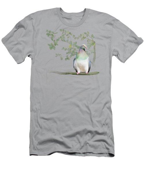 Wood Pigeon Men's T-Shirt (Slim Fit) by Ivana Westin