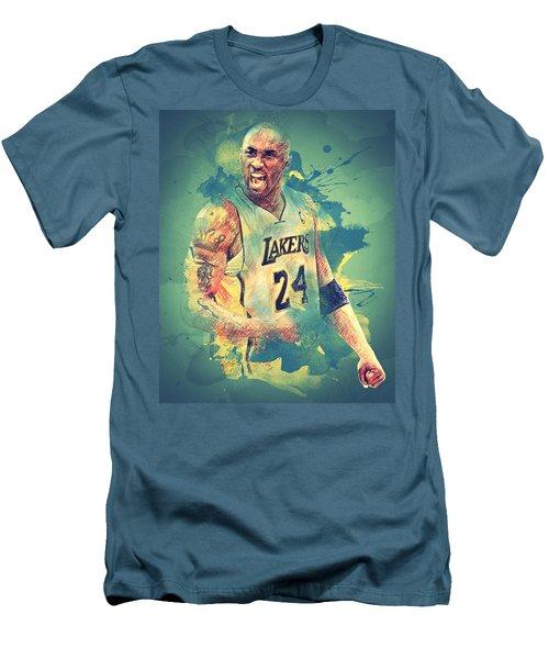Kobe Bryant Men's T-Shirt (Slim Fit) by Taylan Apukovska