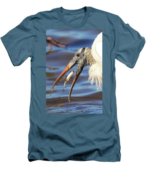 Catch Of The Day Men's T-Shirt (Slim Fit) by Bruce J Robinson