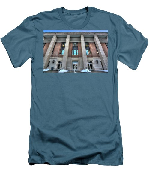 Coffman Memorial Union Men's T-Shirt (Slim Fit) by Amanda Stadther