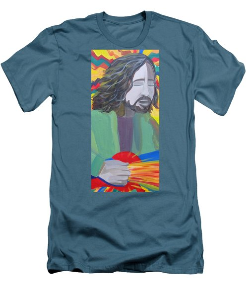 Eddie Men's T-Shirt (Slim Fit) by Kelly Simpson