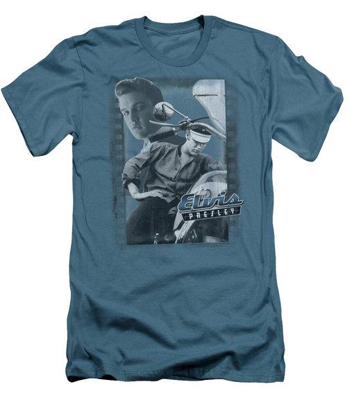 Elvis - Business Or Pleasure Men's T-Shirt (Slim Fit) by Brand A
