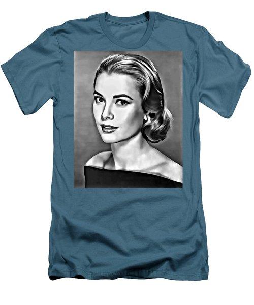 Grace Men's T-Shirt (Slim Fit) by Florian Rodarte