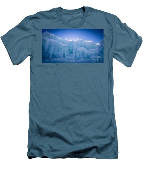 Ice Castle Men's T-Shirt (Slim Fit) by Edward Fielding