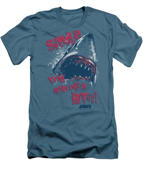 Jaws - Smile Men's T-Shirt (Slim Fit) by Brand A