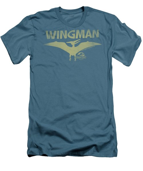 Jurassic Park - Wingman Men's T-Shirt (Slim Fit) by Brand A