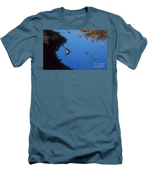 Killdeer Men's T-Shirt (Slim Fit) by Steven Ralser