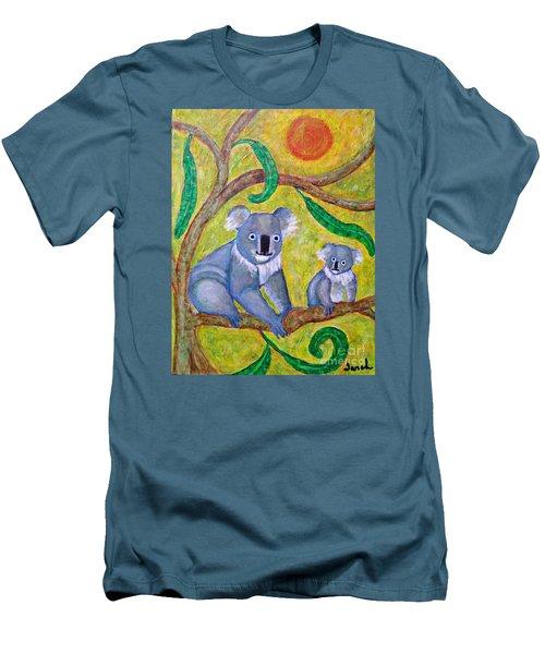 Koala Sunrise Men's T-Shirt (Slim Fit) by Sarah Loft