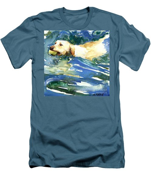 Lake Effect Men's T-Shirt (Slim Fit) by Molly Poole