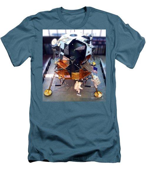 Lunar Module Men's T-Shirt (Slim Fit) by Kevin Fortier