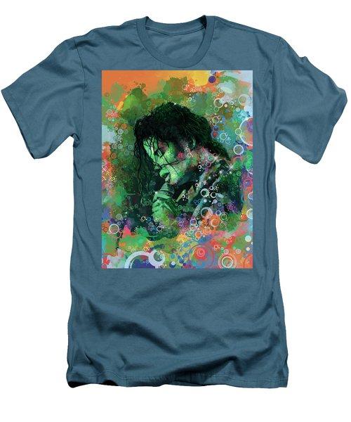 Michael Jackson 15 Men's T-Shirt (Slim Fit) by Bekim Art