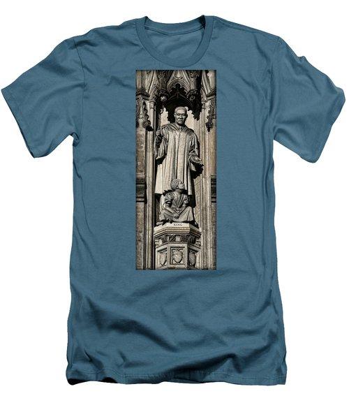 Mlk Memorial Men's T-Shirt (Slim Fit) by Stephen Stookey