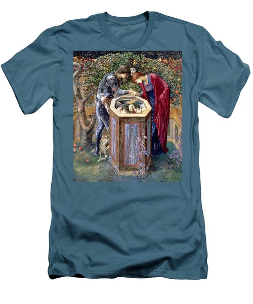 The Baleful Head, C.1876 Men's T-Shirt (Slim Fit) by Sir Edward Coley Burne-Jones
