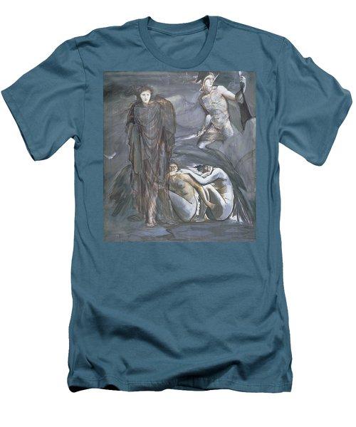 The Finding Of Medusa, C.1876 Men's T-Shirt (Slim Fit) by Sir Edward Coley Burne-Jones