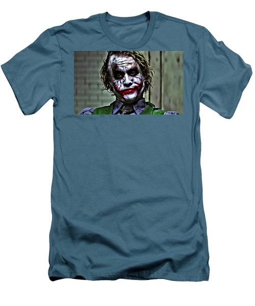 The Joker Men's T-Shirt (Slim Fit) by Florian Rodarte