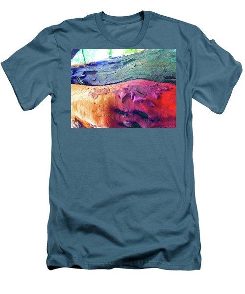 Men's T-Shirt (Slim Fit) featuring the digital art Celebration by Richard Laeton