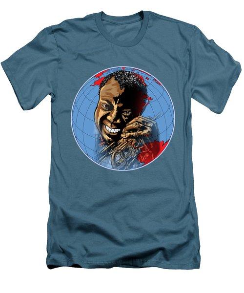 Louis. Men's T-Shirt (Slim Fit) by Andrzej Szczerski