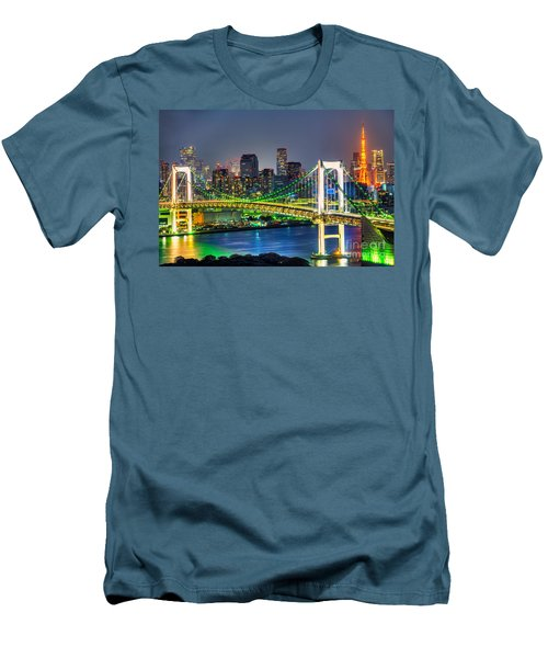 Tokyo - Japan Men's T-Shirt (Slim Fit) by Luciano Mortula