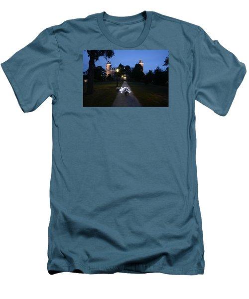 University Of Arkansas Men's T-Shirt (Slim Fit) by Chris  Look