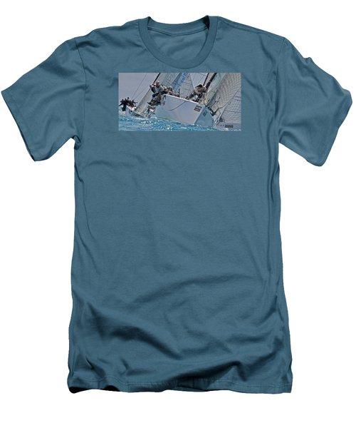 Florida Regatta Men's T-Shirt (Slim Fit) by Steven Lapkin