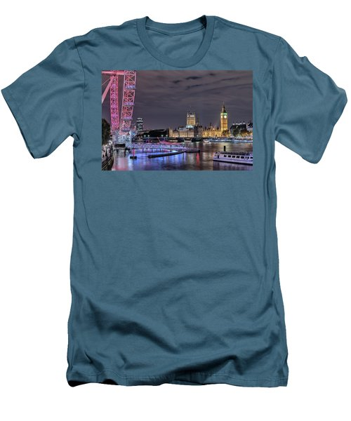 Westminster - London Men's T-Shirt (Slim Fit) by Joana Kruse
