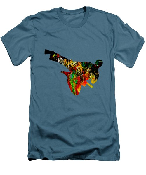 Martial Arts Collection Men's T-Shirt (Slim Fit) by Marvin Blaine