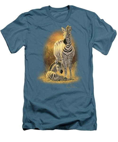 A New Day Men's T-Shirt (Slim Fit) by Lucie Bilodeau