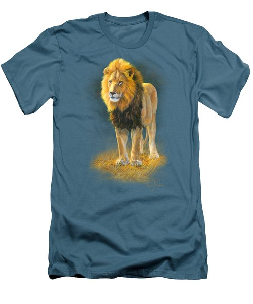 In His Prime Men's T-Shirt (Slim Fit) by Lucie Bilodeau