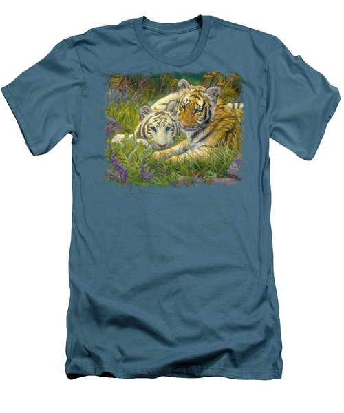 Sisters Men's T-Shirt (Slim Fit) by Lucie Bilodeau
