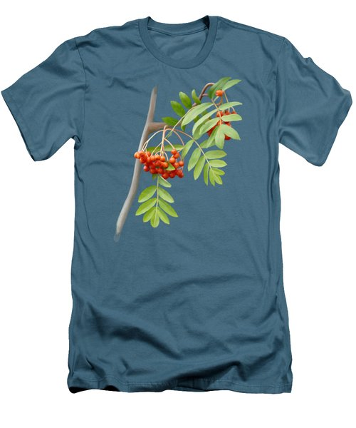 Rowan Tree Men's T-Shirt (Slim Fit) by Ivana Westin