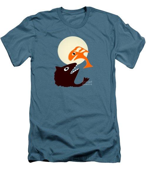 Magic Fish Men's T-Shirt (Slim Fit) by Anastasiya Malakhova