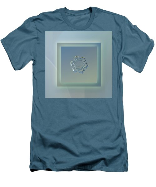 Beneath A Steel Sky - Pastel Frame Men's T-Shirt (Slim Fit) by Alexey Kljatov