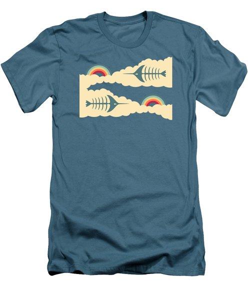 Bittersweet - Pattern Men's T-Shirt (Slim Fit) by Freshinkstain