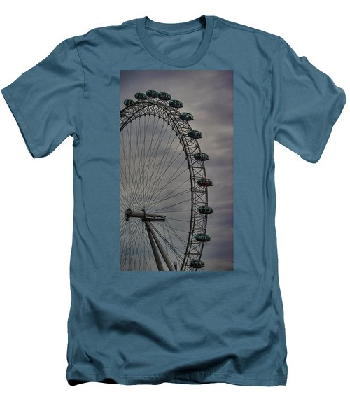 Coca Cola London Eye Men's T-Shirt (Slim Fit) by Martin Newman